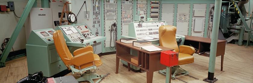 Launch Control Room, Titan ICBM Missile Silo 395 Charlie, Vanden